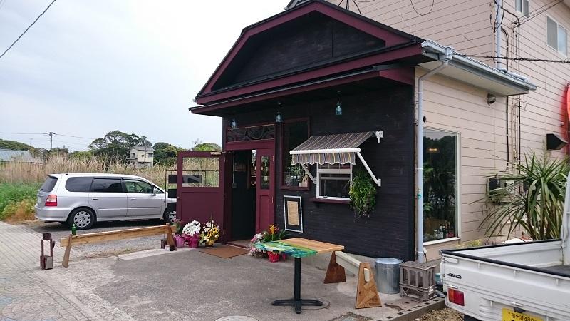 いすみ市にて看板設置、コーヒーショップがオープンです。